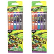 Teeneage Mutant Ninja Turtles Colored Smencil 5-Packs - 2 Sets of Scented Colored Pencils