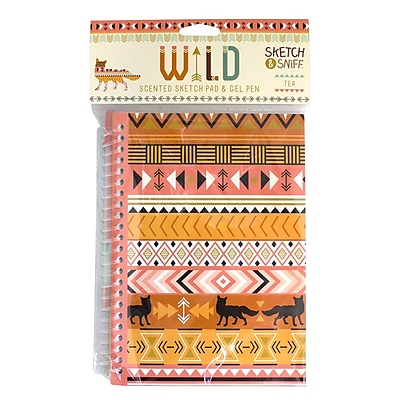 Wild Tea Scented Sketch Pad Set of 3
