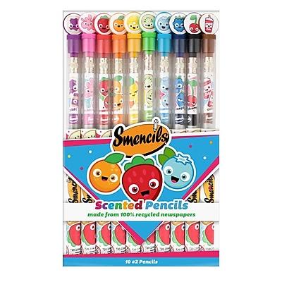 Graphite Smencils 10-Packs - 3 Sets of Scented no.2 Pencils