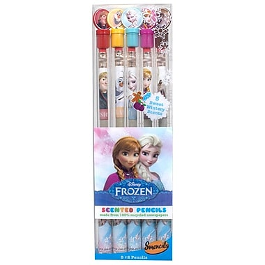 Disney Frozen Smencil 5-Packs - 2 Sets of Scented Graphite Pencils