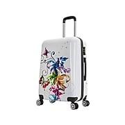 InUSA Fusion Plastic 4-Wheel Spinner Luggage, Fusion (IUAPC00M-FUS)
