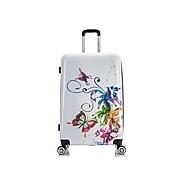 InUSA Fusion Plastic 4-Wheel Spinner Luggage, Fusion (IUAPC00L-FUS)