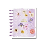 "2021-2022 The Happy Planner 7"" x 9.25 Weekly & Monthly Planner, Life In Bloom, Multicolor (PPCD18-009)"