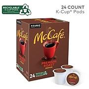 McCafe Premium Roast Coffee, Keurig K-Cup Pods, Medium Roast, 24/Box (5000201379)
