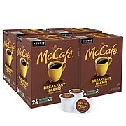 McCafe Breakfast Blend Coffee, Keurig® K-Cup® Pods, Light Roast, 96/Carton (080412)