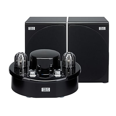 Solis Stereo Bluetooth Vacuum Tube Audio System - 2 Tubes