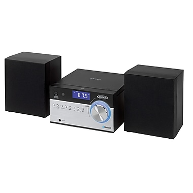 Jensen Bluetooth Cd Music System With Digital Am/Fm Radio And Remote