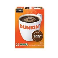 22CT Dunkin Donuts Original Blend Coffee Keurig K-Cup Pods Deals