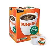 Dunkin' DonutsDecaf Coffee, Keurig® K-Cup® Pods, Medium Roast, 22/Box (400846)