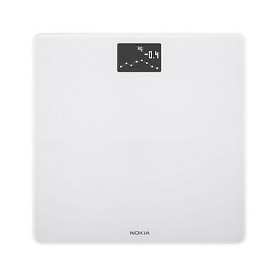 Nokia Body WBS06 BMI Wi-Fi Smart Scale, White, 396 lbs.