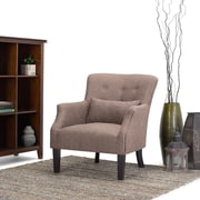 Simpli Home Erril Club Chair in Java (AXCCHR-015)