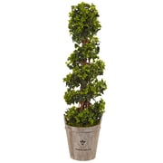Nearly Natural 4' English Ivy Tree in Farmhouse Planter UV Resistant (5855)