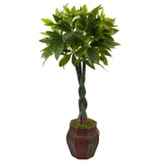 Nearly Natural 4.5' Money Tree in Planter (5969)