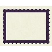 Masterpiece Studios® Parchment Certificate Paper, Metallic Purple Border, 100/Pack