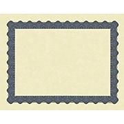Great Papers Metallic Certificates, Beige/Blue, 100/Pack (934400)
