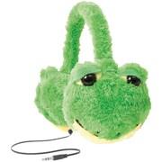 ReTrak ETAUDFFROG Retractable Animalz Headphones, Frog
