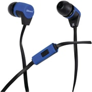 2BOOM EPM480B Next Pod Stereo Earphones, Blue