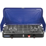 Stansport Outfitter Series 2-Burner Propane Stove, Blue (212-50)