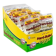 Almark EGGS Hard Boiled Eggs Salt & Pepper, 2 Eggs/Pouch, 10 Pouches/Pack, 4/Pack (902-00462)