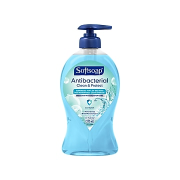Softsoap Clean & Protect Antibacterial Liquid Hand Soap Refill, Cool Splash Scent, 11.25 Oz. (US07327A)