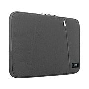 """Solo New York Oswald Polyester Laptop Sleeve for 15.6"""" Laptops, Gray (SLV1615-10)"""