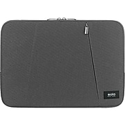 """Solo New York Oswald Polyester Laptop Sleeve for 13.3"""" Laptops, Gray (SLV1613-10)"""