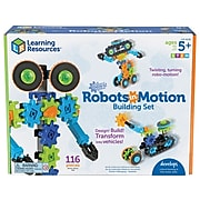Learning Resources Gears! Gears! Gears! Robots in Motion, Multicolor (LER 9228)