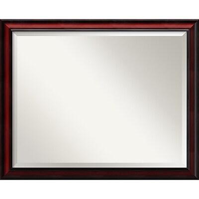 Amanti Art Wall Mirror Large Rubino Cherry Scoop 31
