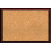 "Amanti Art Extra Large Rubino Cherry Scoop 39""W x 27""H Framed Cork Board (DSW2899103)"