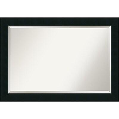 Amanti Art Wall Mirror Extra Large Corvino Black 41