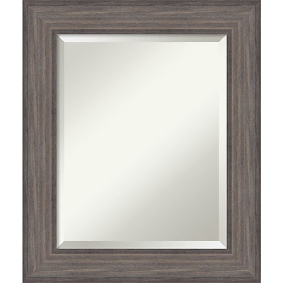 Amanti Art Wall Mirror Medium Country Barnwood 22