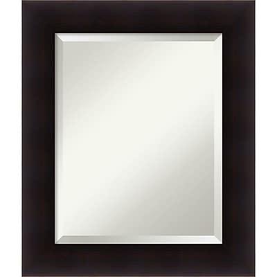 """""Amanti Art Wall Mirror Medium Portico Espresso 22""""""""W x 26""""""""H Frame Espresso (DSW3572112)"""""" 24010616"