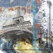 "Amanti Art Canvas Art Gallery Wrap Paris Eiffel by Andrew Mellen 20""W x 20""H (DSW3636958)"
