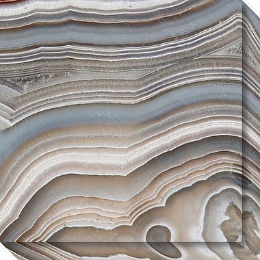 Amanti Art Canvas Art Gallery Wrap Stone Mountain I (Agate) by David Lawrence 20
