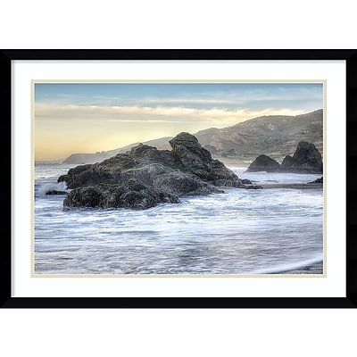 Amanti Art Framed Art Print Rodeo Beach Waves 4 by Alan Blaustein 29