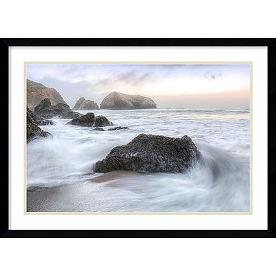 Amanti Art Framed Art Print Rodeo Beach Waves 2 by Alan Blaustein 29