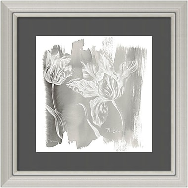 Amanti Art Framed Art Print Water Wash I Neutral (Floral) by Sue Schlabach 24