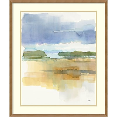 Amanti Art Framed Art Print Dusk Crop by Mike Schick 26