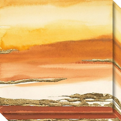 Amanti Art Canvas Art Gallery Wrap Gilded Amber I v2 by Chris Paschkee 20