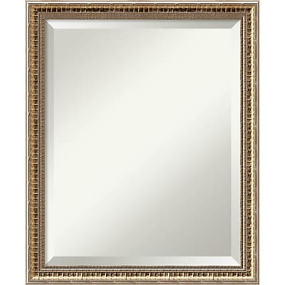 Amanti Art Wall Mirror Medium, Fluted Champagne 18