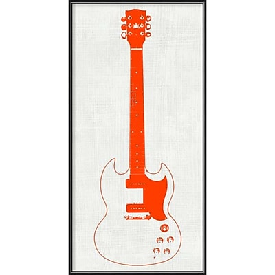 Amanti Art Framed Art Print Guitar Collector III by Kevin Inge 12