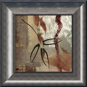 "Amanti Art Framed Art Print Leaf Gesture I by John Butler 18""W x 18""H Frame Metallic (DSW3902627)"
