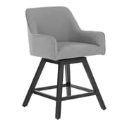 "Studio Designs Home Spire 37"" Swivel Counter Stool Gray (70150)"