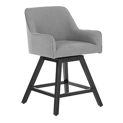 "Studio Designs Home Spire 37"" Swivel Counter Stool Gray (70150)"