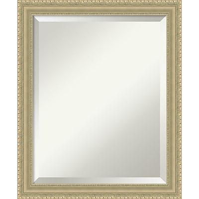 Amanti Art Wall Mirror Medium Champagne Teardrop 19