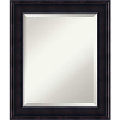 Amanti Art Wall Mirror Medium Annatto Mahogany 21
