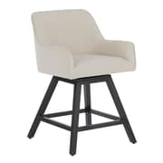 "Studio Designs Home Spire 37"" Swivel Counter Stool Beige (70151)"