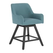 "Studio Designs Home Spire 37"" Swivel Counter Stool Blue (70152)"