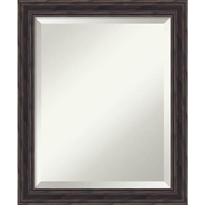 Amanti Art Wall Mirror Medium, Rustic Pine 19