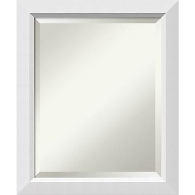 Amanti Art Wall Mirror Medium Blanco White 19